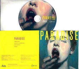 PARADISE-The-Yellow-EP-2017-UK-4-trk-promo-test-CD-Longview-Madrugada