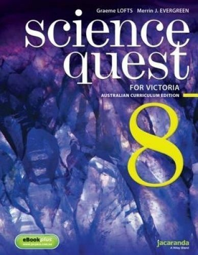 1 of 1 - Science Quest 8 for Victoria Australian Curriculum Edition by...