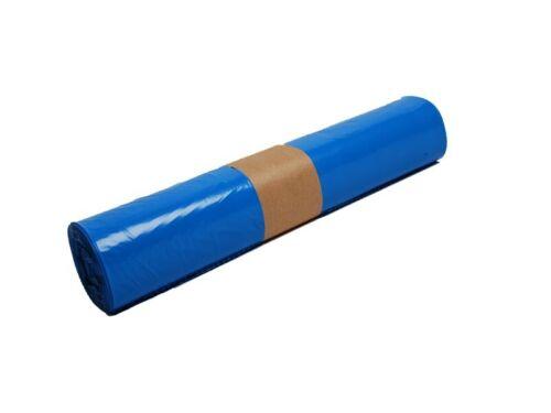 250 Müllsäcke 120 l 700x1100 mm Typ 60 blau Müllsack Sack Müll 49800