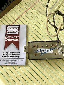 Seymour Duncan Seth Lover Neck Humbucker Alnico 2 Magnets Reissue PAF Pickup