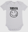 BABY ONE PIECE printed with NIRVANA  band LOGO quality cotton ROMPER