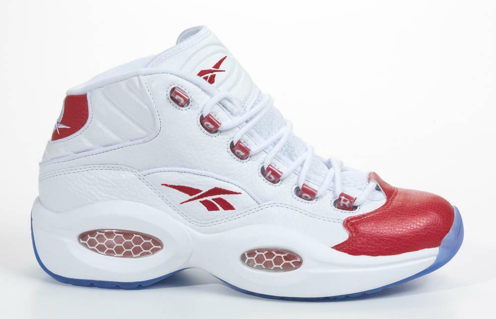 REEBOK IVERSON QUESTION MID (VARSITY rosso) - Dimensione 8