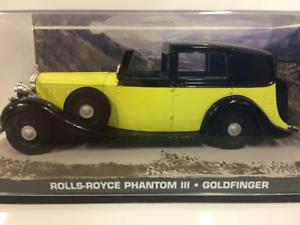James Bond 007 Rolls Royce Phantom III Goldfinger échelle 1:43
