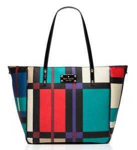 CRZYHeart-Kate-Spade-Bag-WKRU2613-Perry-Street-Plaid-Michelle-Multicolor