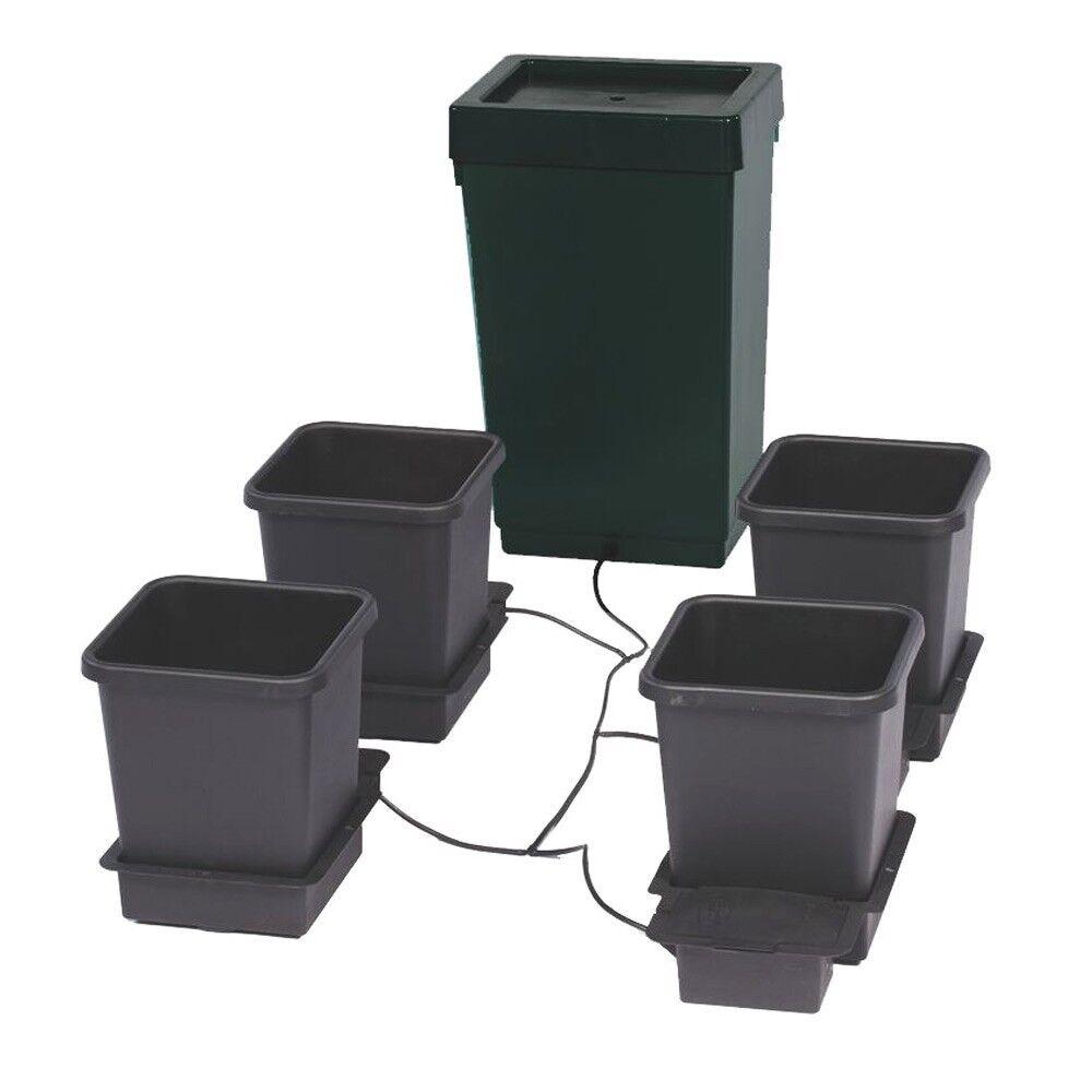 Autopot 4 Vaso Crescere Kit Sistema Completo di 47L Serbatoio Idroponico Auto