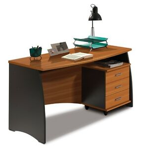 Primo Computer Study Desk With 3 Drawers Office Furniture