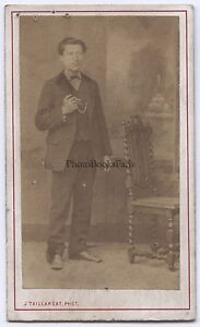 Joseph-Tallardat-Fotografia-Primitivo-Gerigny-CDV-Vintage-Albumina-Ca-1865