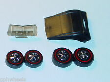 Hot Wheels Redline CLASSIC CORD REPRO TOP, GLASS, & WHEELS -REBUILD KIT!