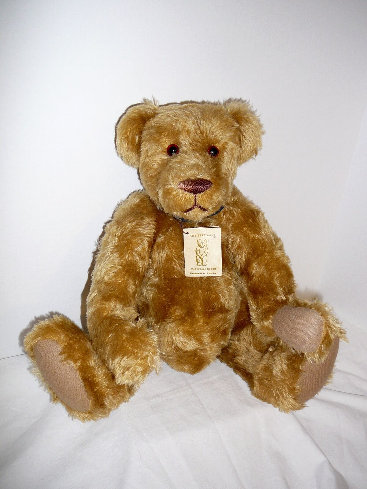 DUDLEY 17 1 2  Bear created by The Bear Lady OOAK designed by Monty Sours