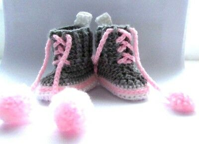 BABY CROCHET cotton HAND SHOES TRAINERS SNEAKERS CLOTHES SOCKS HATS CAPS BOOTS