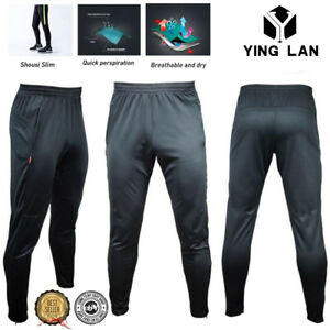 Men-039-s-Sport-Athletic-Soccer-Fitness-Training-Running-Casual-Pants-Trousers-S-2XL