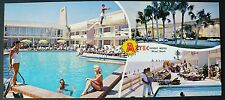 1950s Elongated PC Aztec Motel, 159th St. at Collins Ave. Miami Beach Florida
