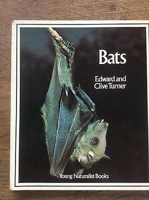 Vermetel Bats Book Edward And Clive Turner Young Naturalist Books