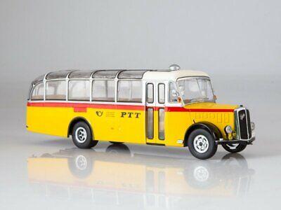 Bus Saurer L4C 1959-1:43 IXO MODEL CAR DIECAST BUS003