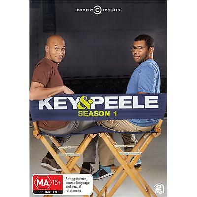 Key & Peele Season 1 + Extras (2012 - 2 Disc ) * Comedy Central *