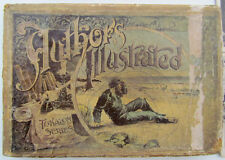 1893 antique CARD GAME of AUTHORS ILLUSTRATED CLARK & SOWDON NY ROBINSON CRUSOE