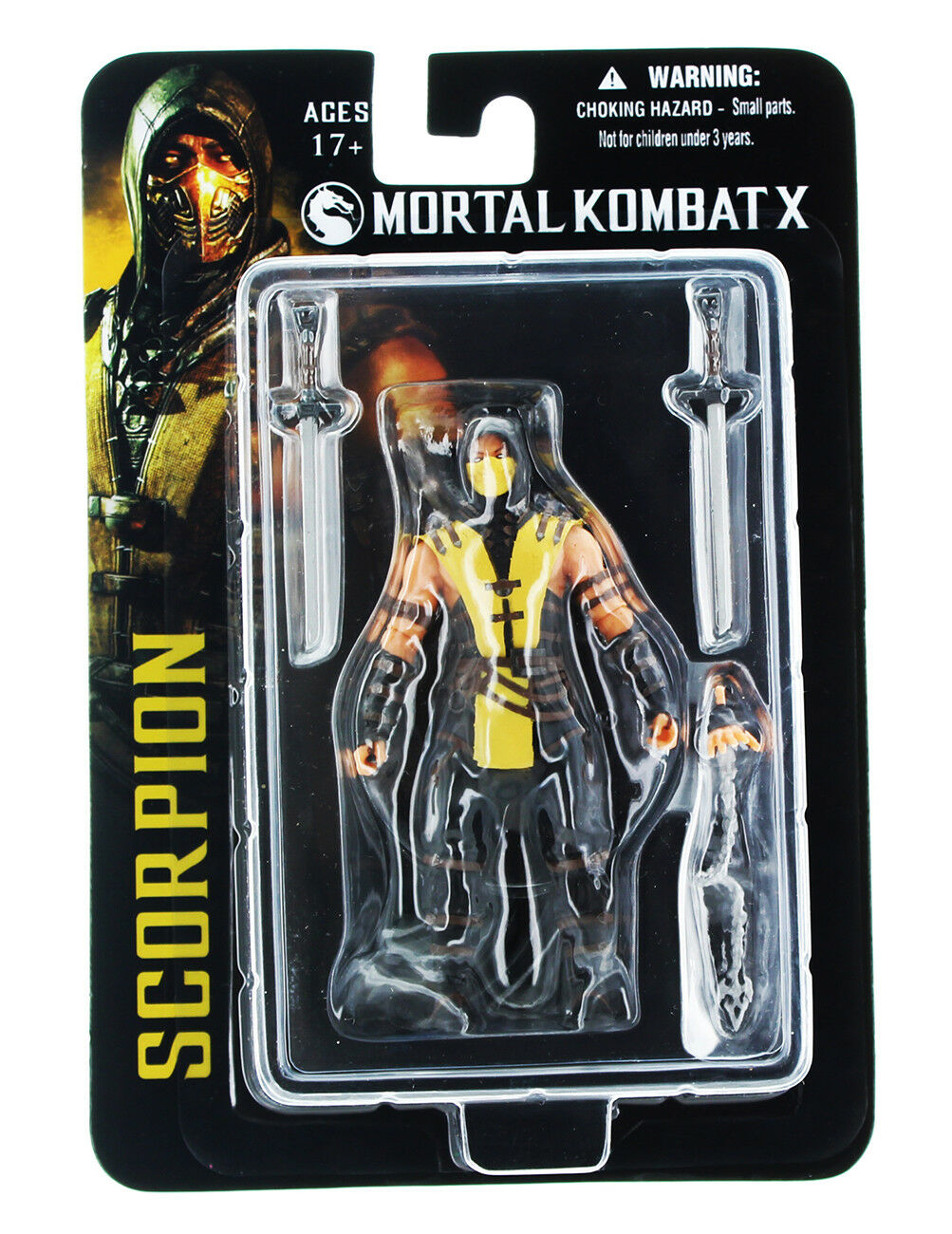 Mortal Kombat X  3.75  Action Figure  Scorpion