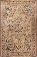 CLEARANCE! Antique Muted Color Geometric 7x10 Tabriz Persian Oriental Area Rug