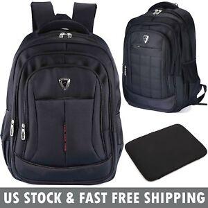 77ca4227599b Men Women 17 inch Laptop Notebook Backpack Waterproof Travel Outdoor ...