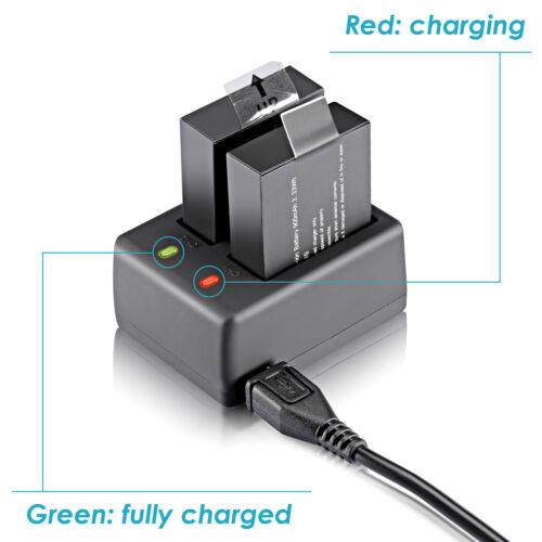 Neewer NW4000 USB Dual Battery Charger for SJ4000 SJ5000 SJ6000 SJ7000 Cameras