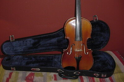 RETROFLASHBACKS VINTAGE  VIOLIN 4/4 KARL KNILLING STRADIVARIUS VIOLIN GERMANY