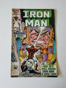 INVINCIBLE-IRON-MAN-205-1986-MARVEL-COMICS
