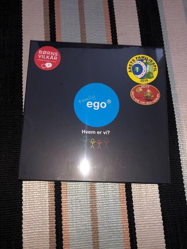 Family EGO, Familiespil, brætspil