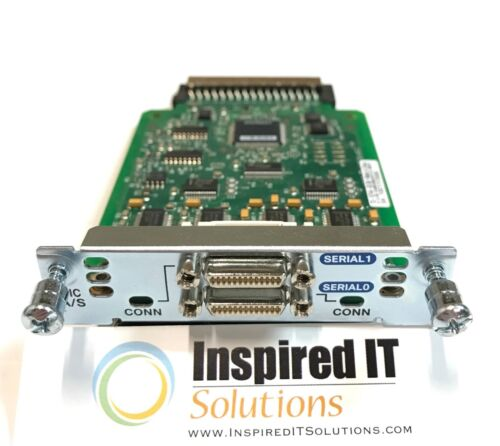 Cisco 2-Port Async//Sync Serial WAN Interface Card *Same Day Shipping HWIC-2A//S