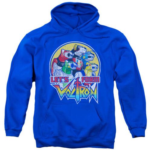 Voltron LET/'S FORM Voltron Lions Licensed Adult Sweatshirt Hoodie