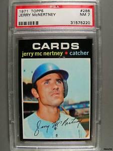 1971-Topps-286-JERRY-McNERTNEY-PSA-NM-7-Cards