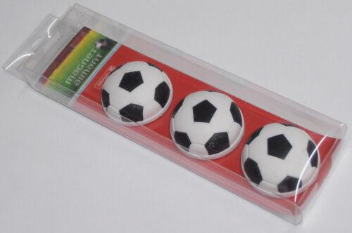 BRUNNEN Magnet Fußball 3er Set 10-3666038 NEU /& OVP