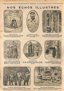 """Poilus Tranchée Soldat Bois le Prêtre Femme Facteur Roger Sommer WWI 1915 - France - Commentaires du vendeur : """"OCCASION"""" - France"""