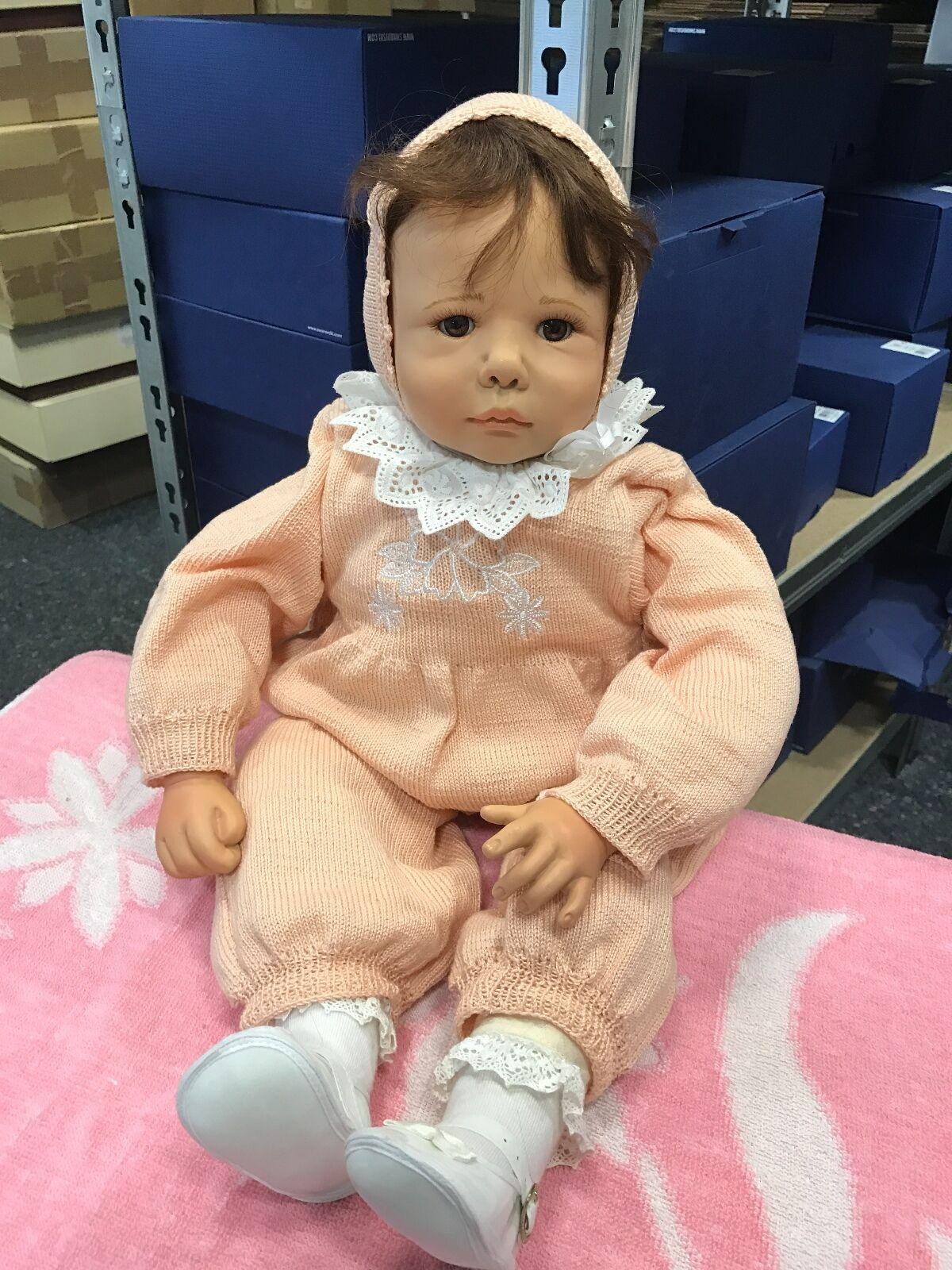 Sybille Sauer bambola di porcellana 62 CM. OTTIMO stato