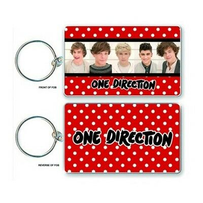 One Direction Keychain Portachiavi Logo Official Merchandise Dolcezza Gradevole