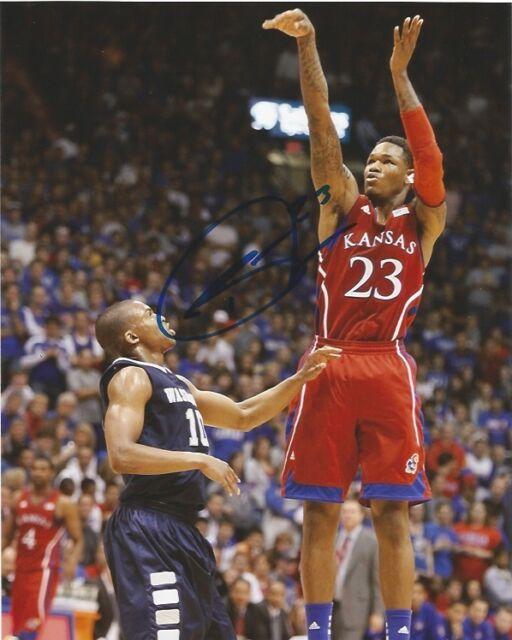 Kansas Jayhawks Ben McLemore Autographed Signed 8x10 Photo COA