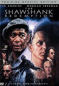 Brand-New-DVD-THE-SHAWSHANK-REDEMPTION-TIM-ROBBINS-MORGAN-FREEMAN-2-DISC-SPECIA