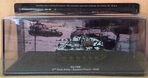 DIE-CAST-TANK-034-SU-76M-2nd-TANK-ARMY-EASTERN-FRONT-1945-034-BLINDATI-043-1-72