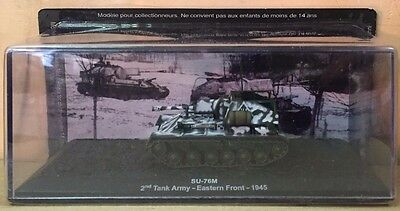 "Die Cast Tank "" Su-76m 2nd Tank Army Eastern Front - 1945 "" Blindati 043 1/72 Lieve E Dolce"