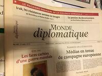 Le Monde Diplomatique N° 614 De Mai 2005 = Très Rare