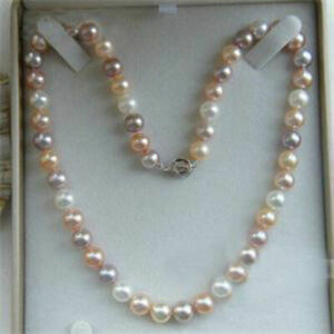 8mm-White-amp-Pink-amp-Purple-Akoya-Shell-Pearl-Necklace-18-034-AAA