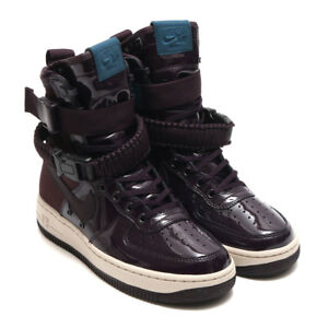 SALE NIKE AIR FORCE 1 HIGH SF HI PORT WINE SE PREMIUM aj0963 600 ... acdfbad76c