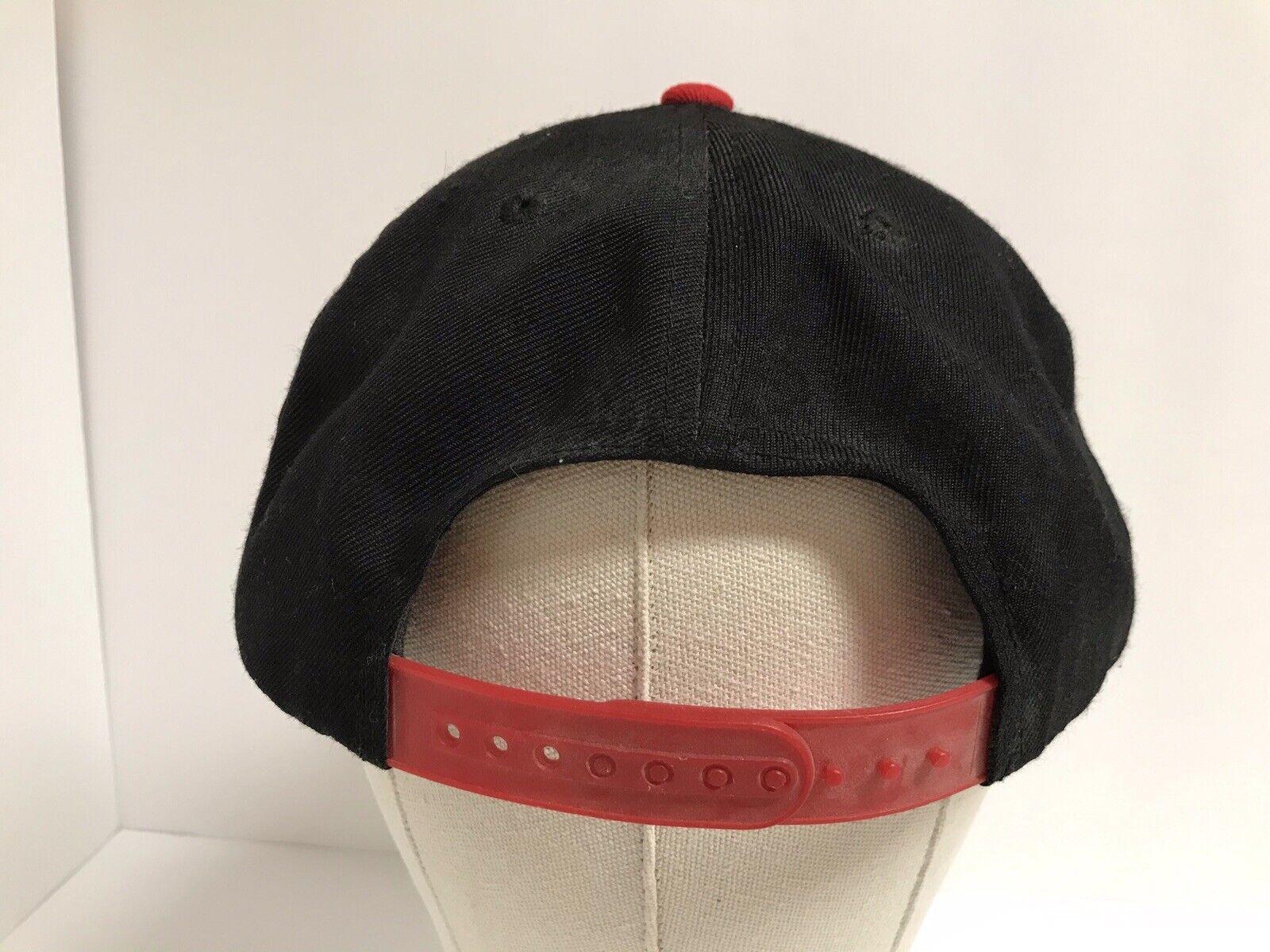 Propaganda Obey Red Black Snapback Hat - image 5