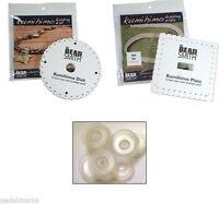 Craft Kumihimo Kit 2 Braiding Disks (1 Round+1 Square) + 8 Bobbins +20 Ft Cord