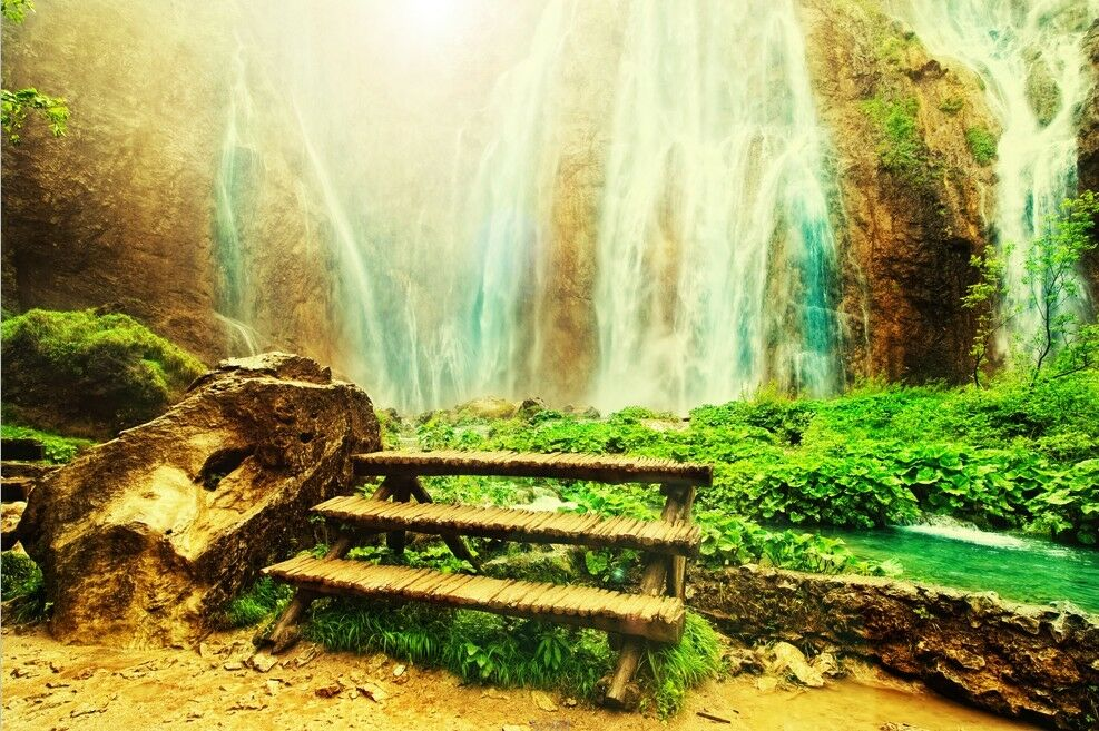 3D Valley stairs 294 WallPaper Murals Wall Print Decal Wall Deco AJ WALLPAPER