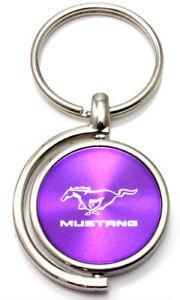 Chrysler Purple Spun Brushed Metal Key Chain
