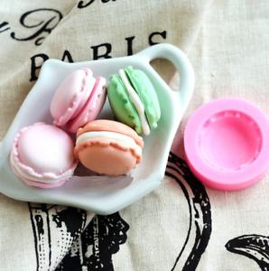 Macaron-Silicone-Mold-Soap-Fondant-Sugarcraft-Mould-Baking-Cake-Decoration-Tools