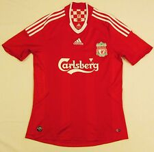 Liverpool LFC Authentic Adidas 2008-10 Home Football Soccer Jersey Shirt