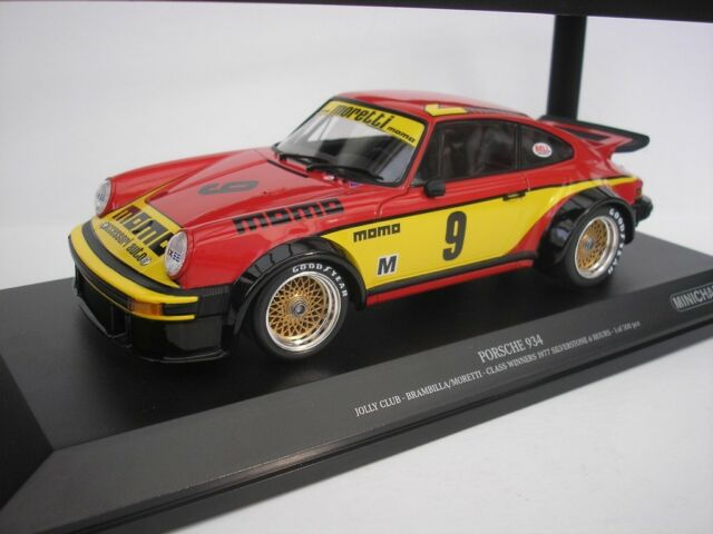 Porsche 934 9 6hrs Silverstone 1977 Brambilla 1 18 Minichamps 155776409 New