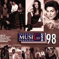 Music City USA '98 Sherrié Austin, Brooks & Dunn, Pam Tillis, Vince Gill,.. [CD]