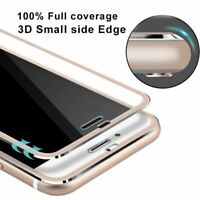 3D Full Cover Curved Screen Protector Tempered Glass Fr iPhone X 6 7 8 Plus S001
